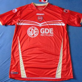 Valenciennes Home φανέλα ποδόσφαιρου 2012 - 2013 sponsored by GDE Recyclage
