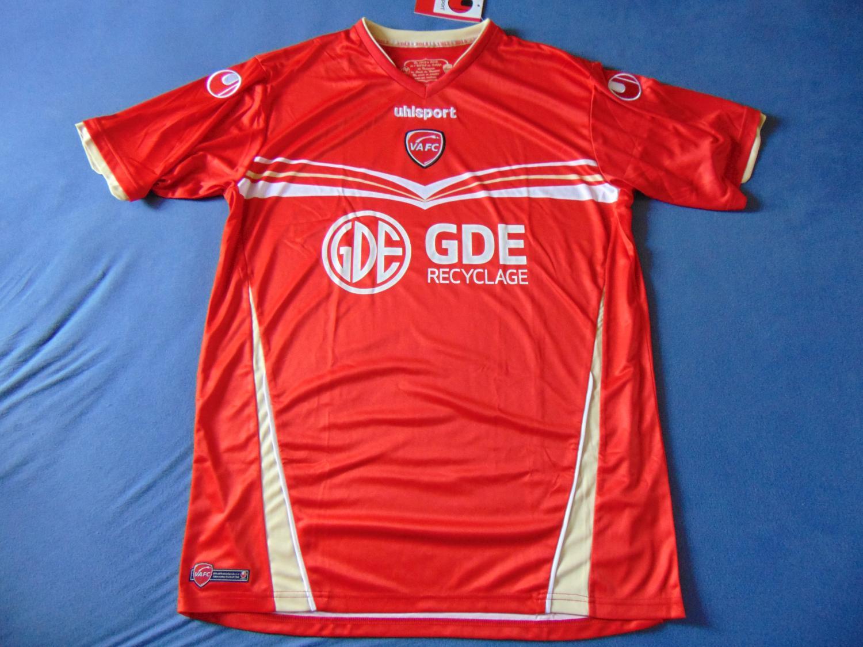 Valenciennes Onbekend soort shirt 2012 2013. Sponsored by
