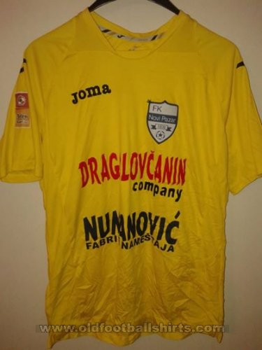 Novi Pazar Away football shirt 2000