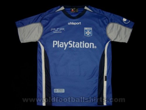 Auxerre Away football shirt 2005 - 2006