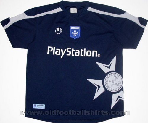 Auxerre Away Fußball-Trikots 2006 - 2007