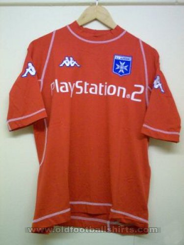 Auxerre Away Fußball-Trikots 2001 - 2002