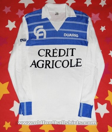 Auxerre Home Fußball-Trikots 1984 - 1985