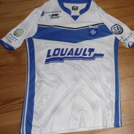Auxerre Home Fußball-Trikots 2016 - 2017 sponsored by Louault