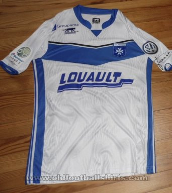 Auxerre Home voetbalshirt  2016 - 2017