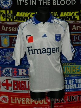 Auxerre Home Fußball-Trikots 1998 - 1999