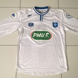 Auxerre Cup Shirt Fußball-Trikots 2014 - 2015 sponsored by PMU