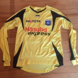Auxerre Torwart Fußball-Trikots 2008 - 2009 sponsored by Nàsuba Express