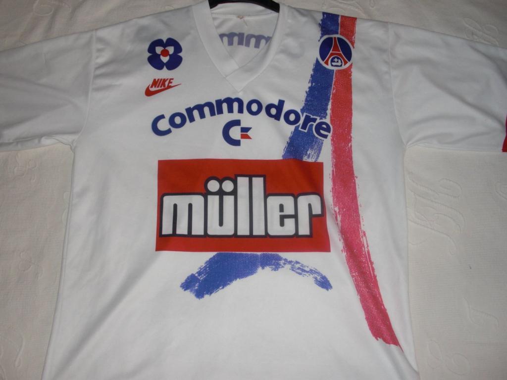 Paris Saint-Germain Home maglia di calcio 1991 - 1992.