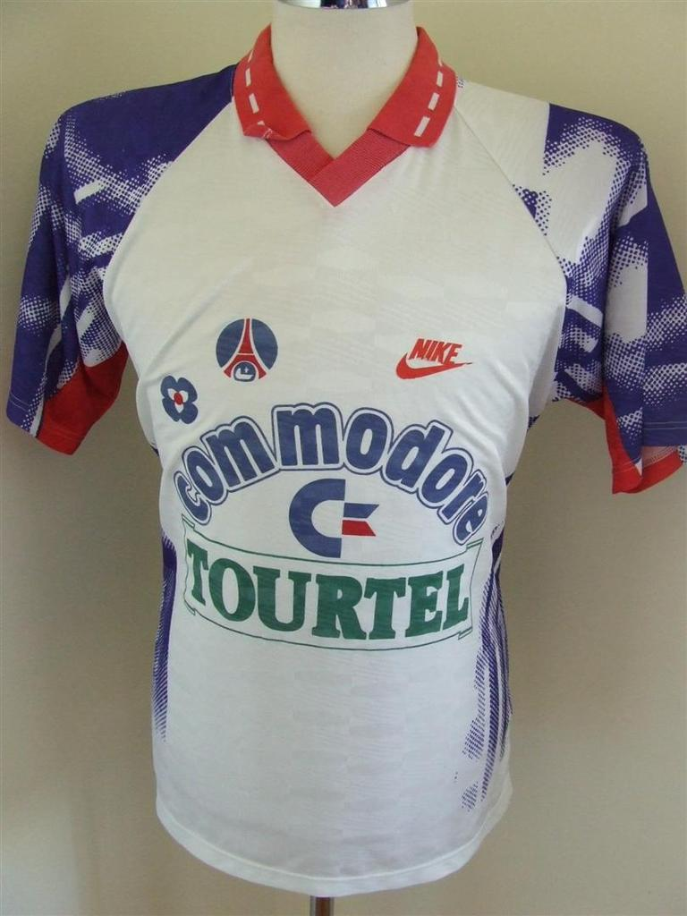 Paris Saint-Germain Away football shirt 1992 - 1993.
