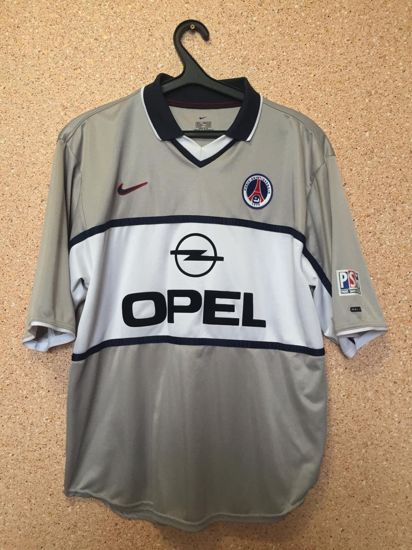 e46d468cedc Paris Saint-Germain Away maglia di calcio 2002 - 2003.