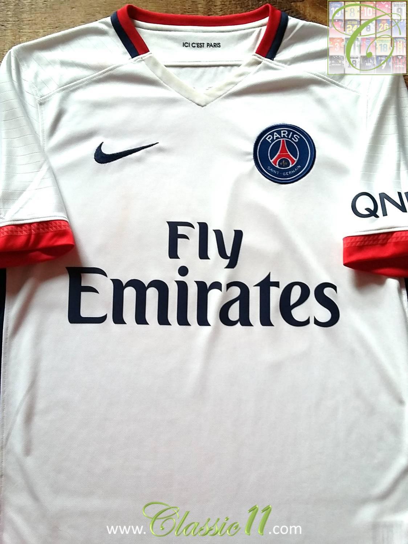 Paris Saint-Germain Maglia da trasferta maglia di calcio 2015 - 2016.