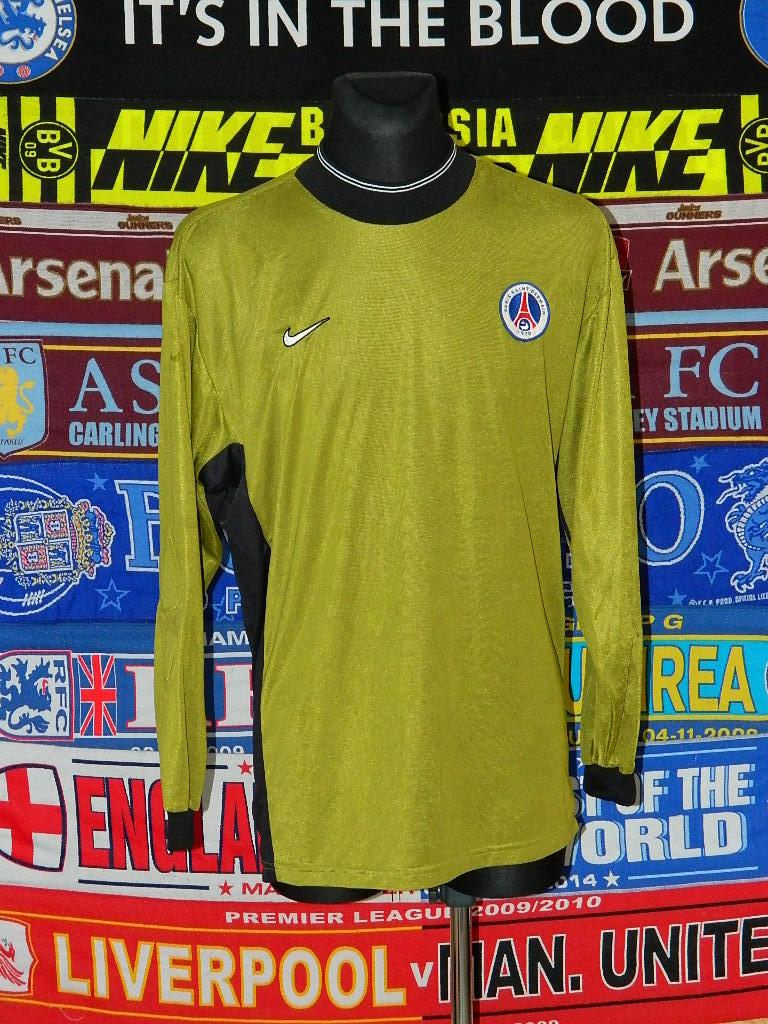 894ec2649 Paris Saint-Germain Goalkeeper φανέλα ποδόσφαιρου 1999 - 2000.