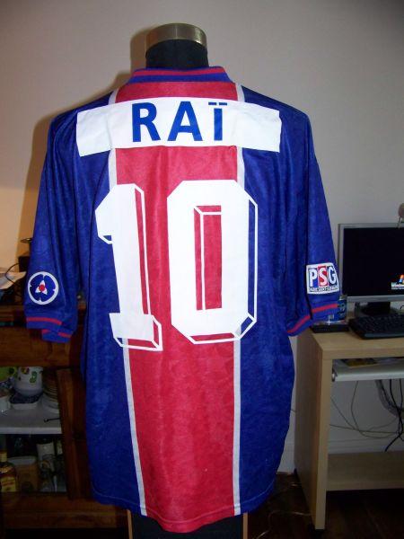Paris Saint-Germain Home maglia di calcio 1995 - 1996.