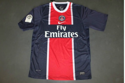 the latest d6caa 8ae88 Paris Saint-Germain Home football shirt 2011 - 2012.