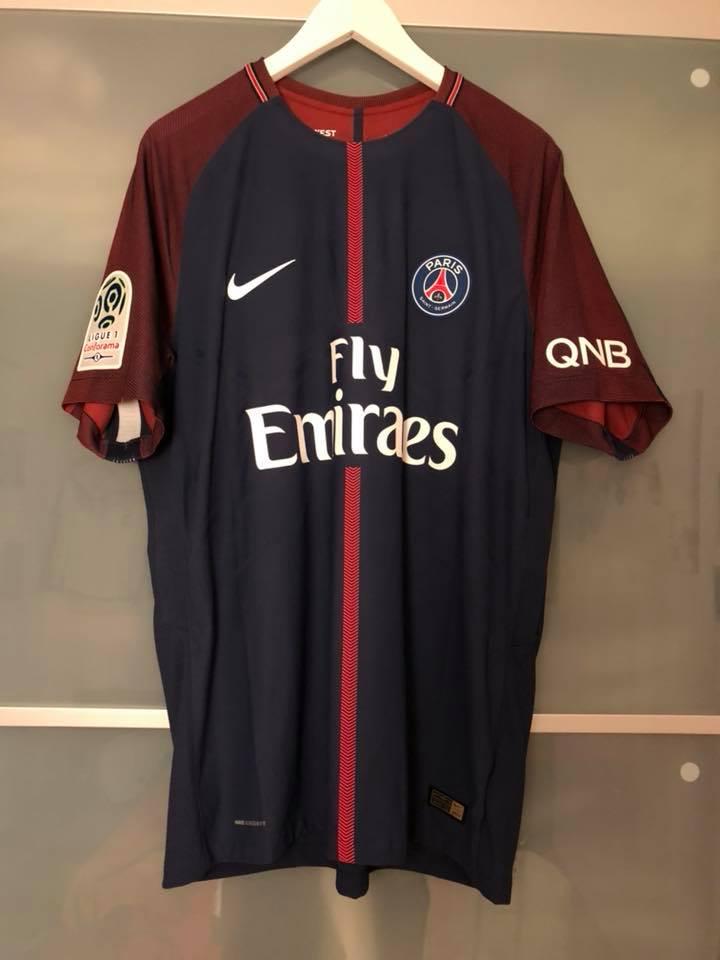 871e9ecc7 Paris Saint-Germain Home camisa de futebol 2017 - 2018.