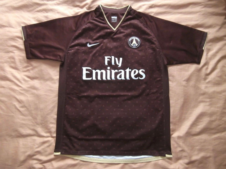 Paris Saint-Germain שלישית חולצת כדורגל 2006 - 2007.