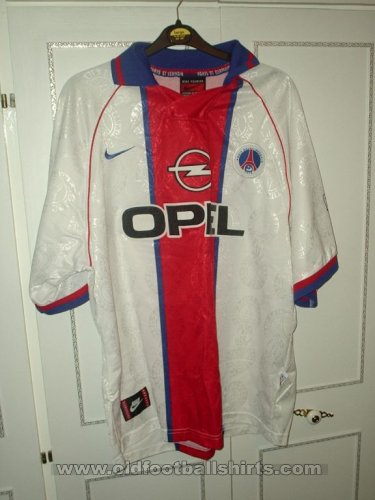 Paris Saint-Germain Away football shirt 2000 - 2001