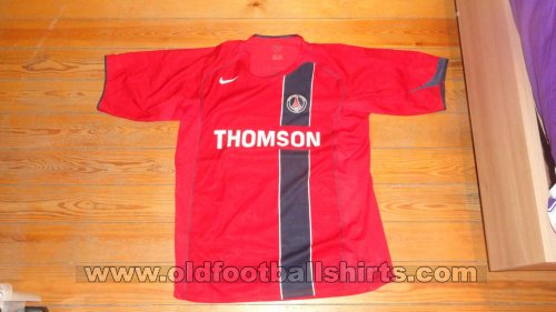 Paris Saint-Germain Away camisa de futebol 2004 - 2005