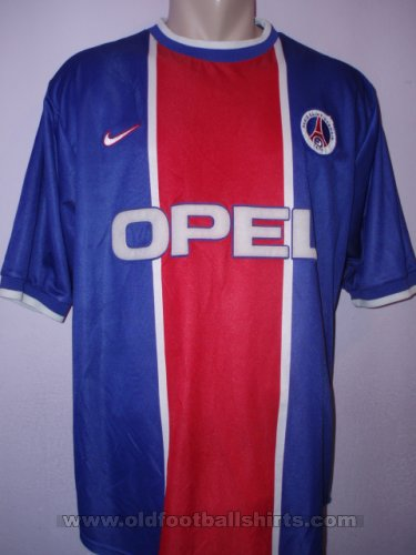 Paris Saint-Germain Home camisa de futebol 1999 - 2000
