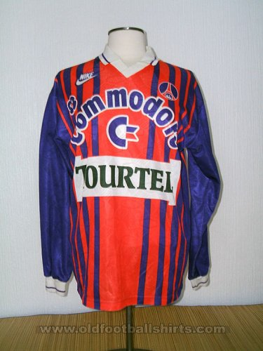 Paris Saint-Germain Home football shirt 1992 - 1993