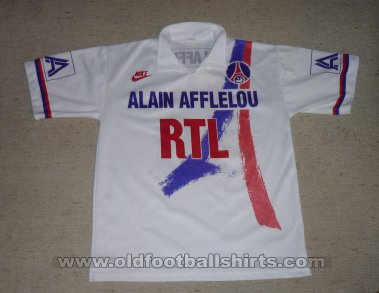 Paris Saint-Germain Home football shirt 1990 - 1991