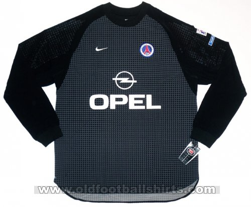 Paris Saint-Germain Kaleci futbol forması 2000 - 2001