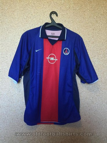 Paris Saint-Germain Home football shirt 2000 - 2001