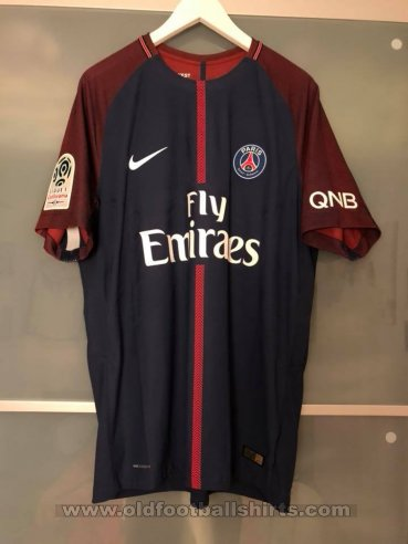 Paris Saint-Germain Home camisa de futebol 2017 - 2018