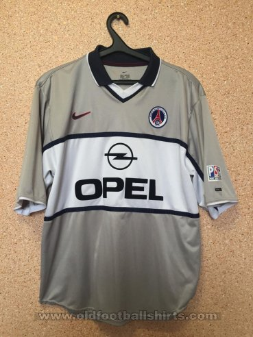 Paris Saint-Germain Away football shirt 2002 - 2003