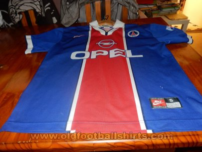 Paris Saint-Germain Home baju bolasepak 1997 - 1998
