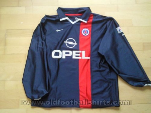 Paris Saint-Germain Home football shirt 2001 - 2002