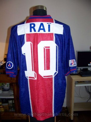 Paris Saint-Germain Home football shirt 1995 - 1996