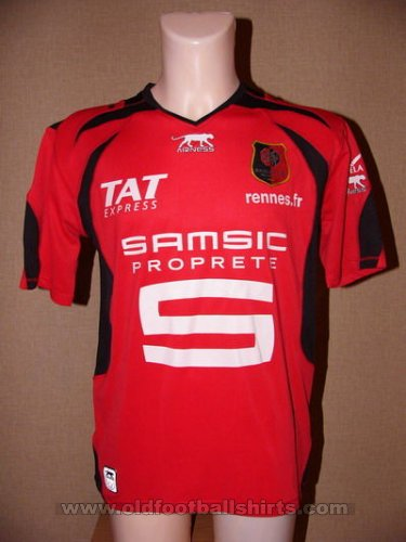Rennes Home football shirt 2006 - 2007