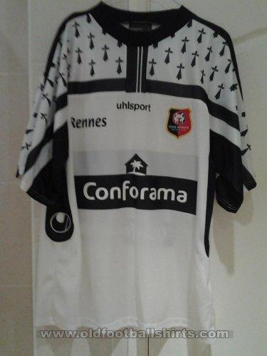 Rennes ext rieur maillot de foot 2003 2004 ajout 2016 for Maillot rennes exterieur