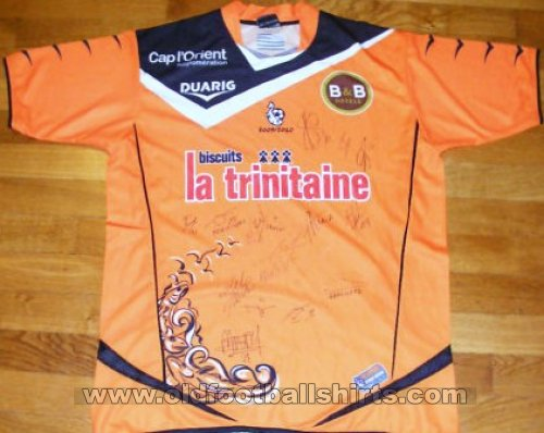 Lorient Home football shirt 2009 - 2010