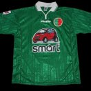 Sedan Ardennes football shirt 1998 - 2000