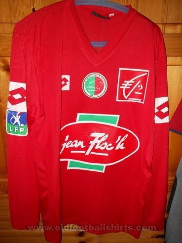 Sedan Ardennes Home football shirt 2003 - 2004