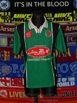 Sedan Ardennes Retro Replicas football shirt 2002 - 2003