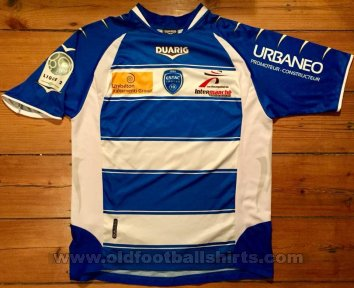 Troyes Home football shirt 2010 - 2011
