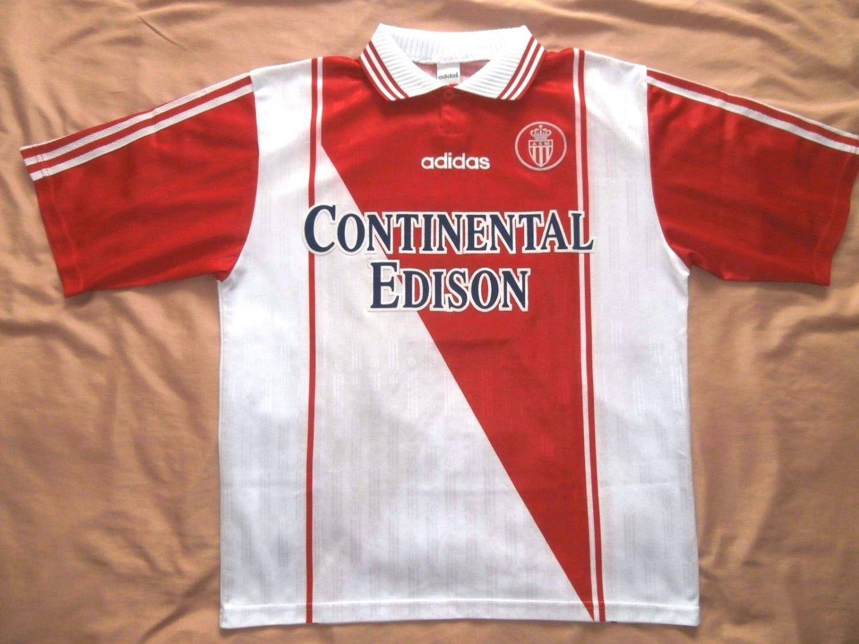Monaco Home football shirt 1997 - 1998.