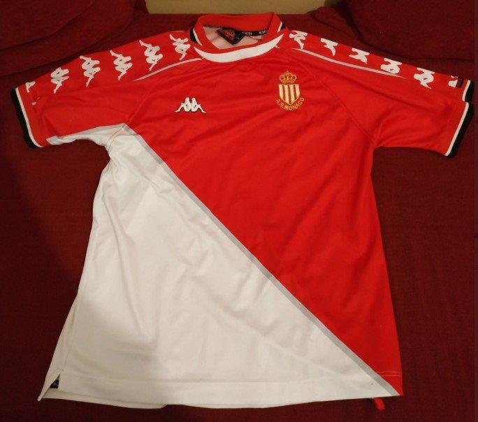 Monaco Home maglia di calcio 1999 - 2000.