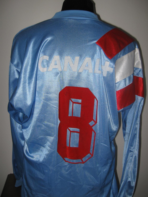 Monaco Third football shirt 1992 - 1993.