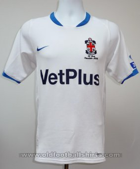 AFC Fylde Home football shirt 2007 - 2008
