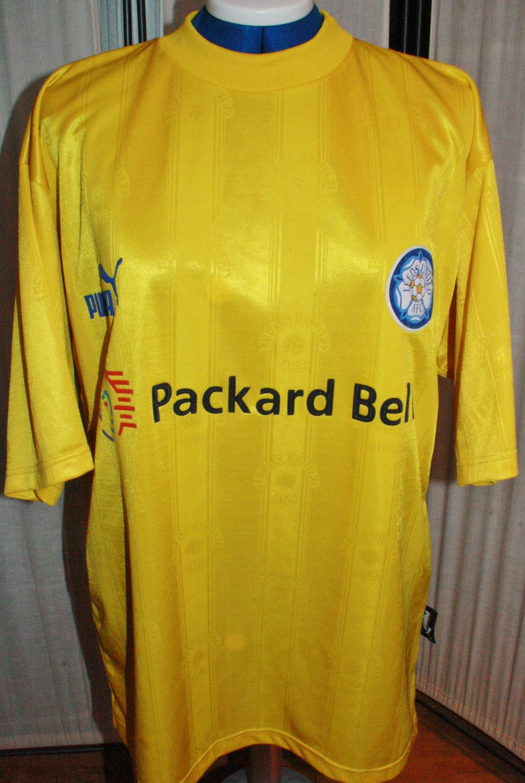 Leeds United Maglia da trasferta maglia di calcio 1997 - 1998 ...
