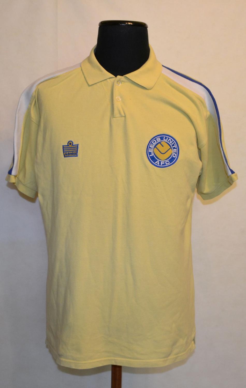 194a4c14 Leeds United Retro Replicas camisa de futebol 1976 - 1981. Sponsored ...