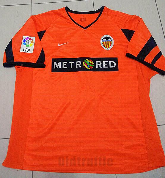 9f96a77c3 Valencia Away football shirt 2001 - 2002.
