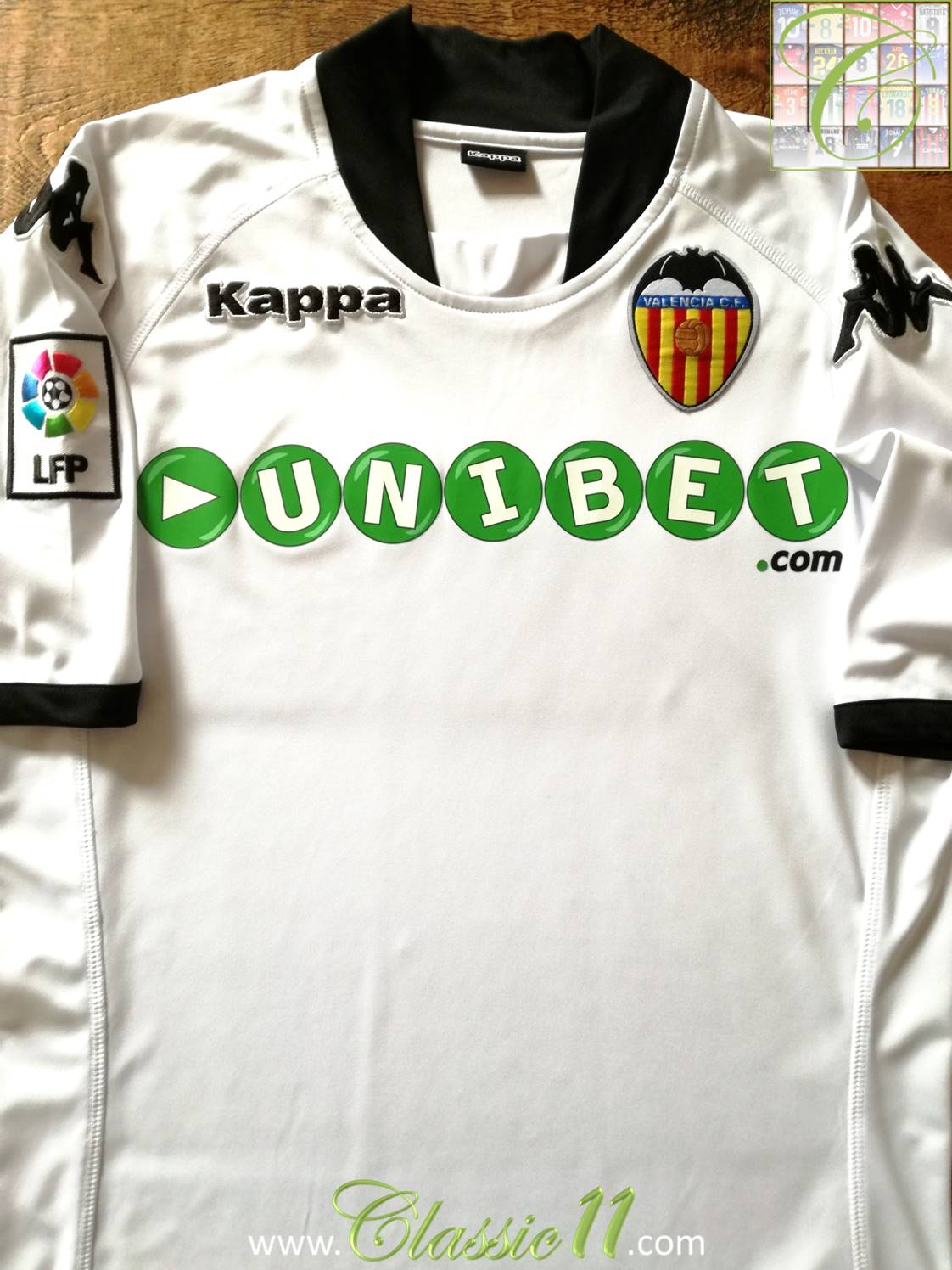 a40f5ad3986 Valencia Home football shirt 2009 - 2010.