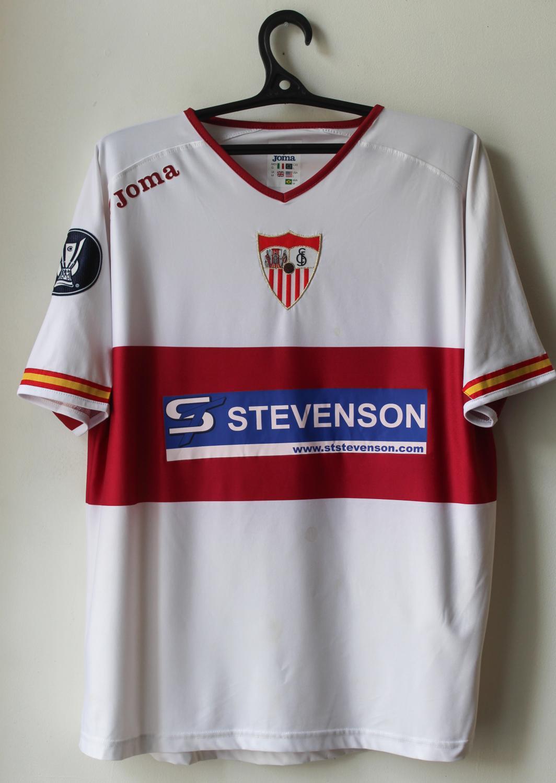 Sevilla Maglia di Coppa maglia di calcio 2005 - 2006.