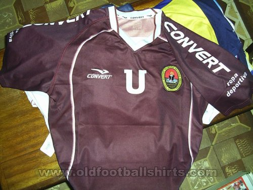 Atletico Universidad Nacional San Agustin Home football shirt 2005 - ?